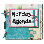 Bo Bunny Press - Our Holiday Agenda - Layout Project Kit