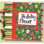 Bo Bunny Press - Holiday Magic Collection - Christmas - Holiday Planner -  9x9