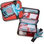 Bo Bunny Press - All In One Kit - Heart Throb CD Tin Album, CLEARANCE
