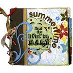 Bo Bunny Press - Calypso Collection - 9 x 9 Planner Album Class Kit - Livin Is Easy
