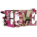 Bo Bunny Press - Smitten Collection - Valentine's Day - Word Album Class Kit - Love