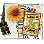Bo Bunny Press - Sugar and Spice - Recipe Binder Project Kit, CLEARANCE