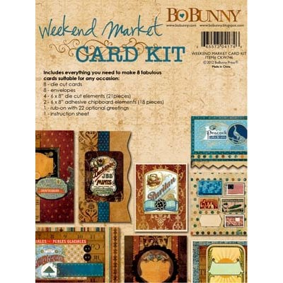 Bo Bunny - Weekend Market Collection - Card Kit