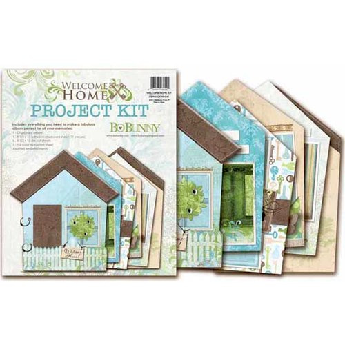 Bo Bunny - Welcome Home Collection - Project Kit