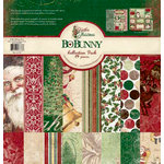 Bo Bunny Press - Father Christmas Collection - 12 x 12 Collection Pack
