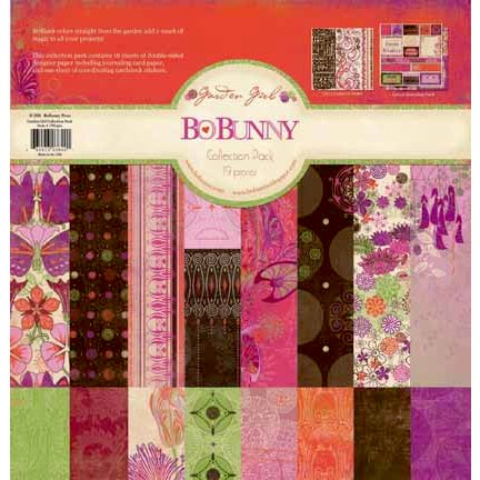 Bo Bunny Press - Garden Girl Collection - 12 x 12 Collection Pack