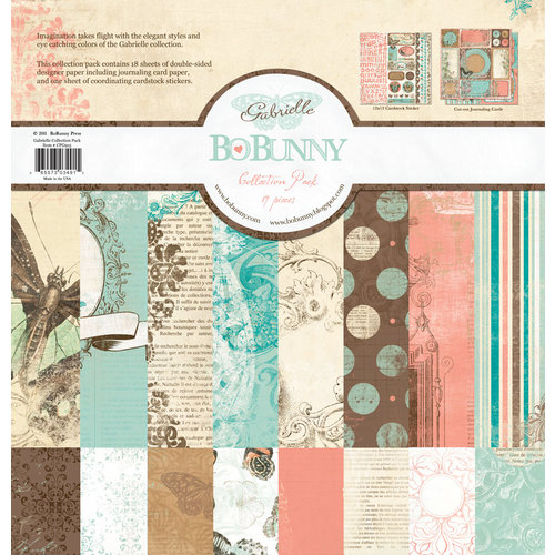 Bo Bunny Press - Gabrielle Collection - 12 x 12 Collection Pack
