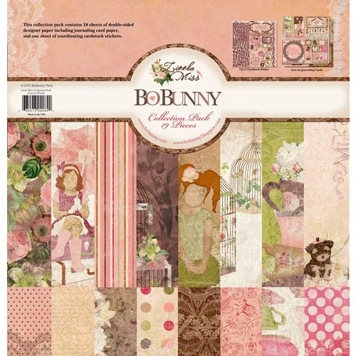 Bo Bunny Press - Little Miss Collection - 12 x 12 Collection Pack