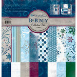 Bo Bunny Press - Midnight Frost Collection - Christmas - 12 x 12 Collection Pack, BRAND NEW