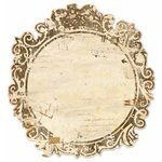 Bo Bunny - Et Cetera Collection - 12 x 12 Die Cut Paper - Filigree