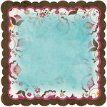 Bo Bunny Press - Sophie Collection - 12 x 12 Die Cut Paper - Sophie Joy