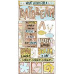 Bo Bunny Press - Cardstock Stickers - Daydream, CLEARANCE