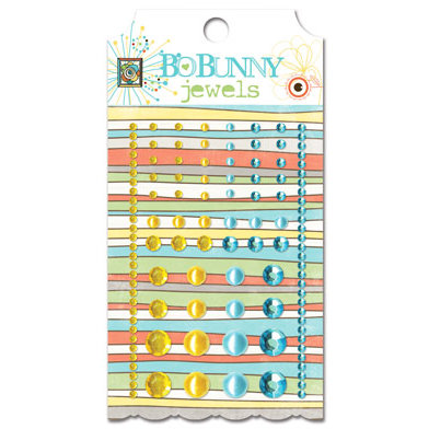 Bo Bunny Press - Ad Lib Collection - Bling - Jewels - Ad Lib