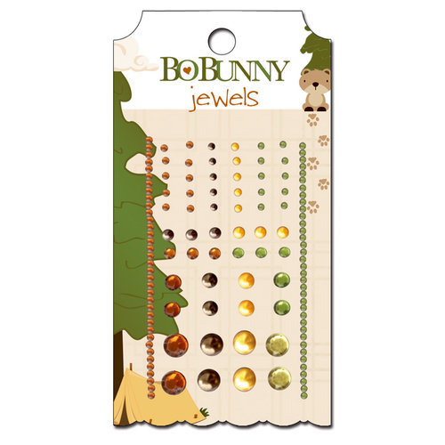 Bo Bunny - Camp-A-Lot Collection - Bling - Jewels