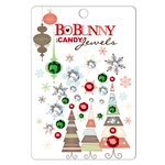 Bo Bunny Press - Tis The Season Collection - Christmas - I Candy Jewels - Holiday, CLEARANCE