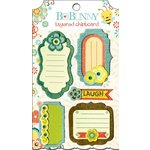 Bo Bunny - Hello Sunshine Collection - Layered Chipboard Stickers with Glitter and Jewel Accents