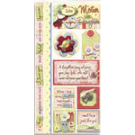 Bo Bunny Press - Felicity Collection - Cardstock Stickers - Mom and Me