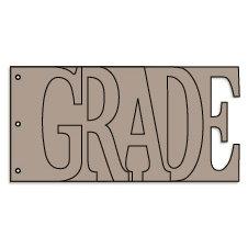 Bo Bunny Press - Album - My Word - Grade - Chipboard - School