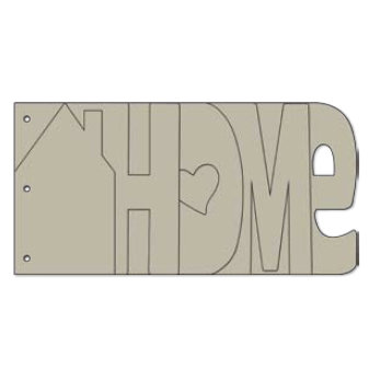 Bo Bunny Press My Word Chipboard Albums Home