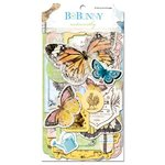 Bo Bunny Press - Country Garden Collection - Note Worthy Journaling Cards