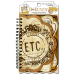 Bo Bunny - Et Cetera Collection - Note Worthy Journaling Cards