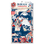 Bo Bunny Press - Liberty Collection - Note Worthy Journaling Cards - Liberty