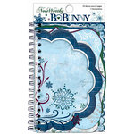 Bo Bunny Press - Midnight Frost Collection - Christmas - Note Worthy Journaling Cards - Midnight Frost