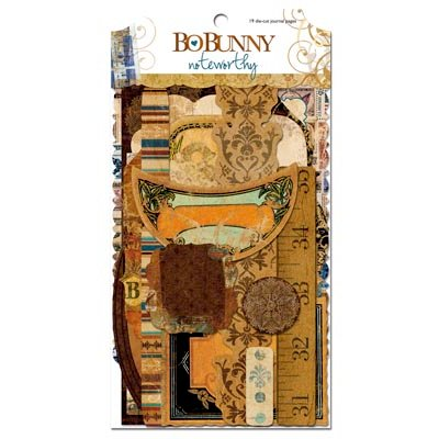 Bo Bunny Press - Weekend Market Collection - Note Worthy Journaling Cards