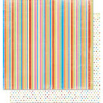 Bo Bunny Press - Popsicle Collection - 12 x 12 Double Sided Paper - Bubble Gum