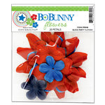 Bo Bunny Press - Block Party Collection - Flowers, CLEARANCE