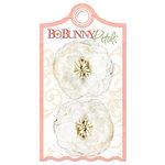 Bo Bunny Press - Olivia Collection - Petals - Cream Gardenia