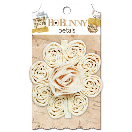 Bo Bunny - Et Cetera Collection - Flower Embellishments - Petals