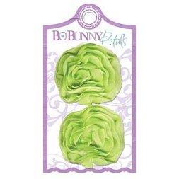 Bo Bunny Press - Winter Joy Collection - Christmas - Petals - Green Scrunch
