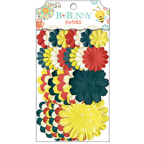 Bo Bunny - Hello Sunshine Collection - Flower Embellishments - Petals