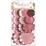 Bo Bunny Press - Little Miss Collection - Flower Embellishments - Petals