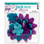 Bo Bunny Press - Peacock Lane Collection - Flowers, CLEARANCE