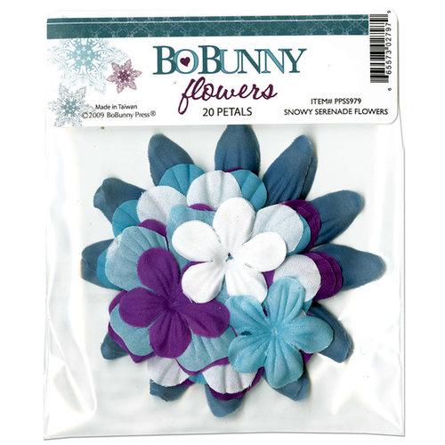 Bo Bunny Press - Snowy Serenade Collection - Flowers
