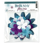 Bo Bunny Press - Snowy Serenade Collection - Flowers