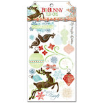 Bo Bunny Press - Blitzen Collection - Christmas - Rub Ons