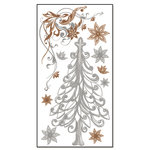 Bo Bunny Press - Rub Ons - Oh Christmas Tree, CLEARANCE