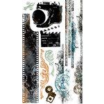 Bo Bunny Press - Mama-razzi Collection - Rub Ons - Negatives