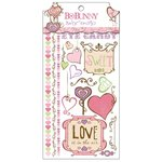 Bo Bunny - Smoochable Collection - Rub Ons