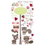 Bo Bunny Press - Love Bandit Collection - Rub Ons - U Stole My Heart