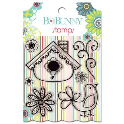 Bo Bunny - Alora Collection - Clear Acrylic Stamp