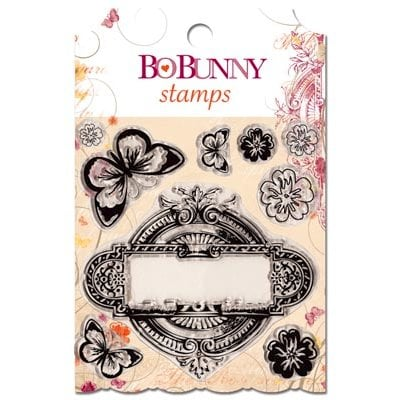 Bo Bunny - Ambrosia Collection - Clear Acrylic Stamp