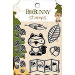 Bo Bunny - Camp-A-Lot Collection - Clear Acrylic Stamps