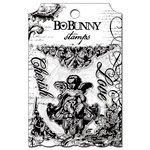 Bo Bunny - Enchanted Collection - Clear Acrylic Stamp