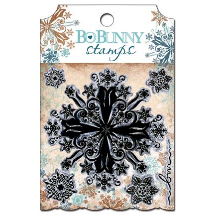 Bo Bunny Press - Snowfall Collection - Clear Acrylic Stamp