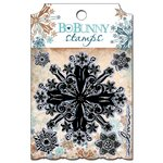 Bo Bunny Press - Snowfall Collection - Clear Acrylic Stamp