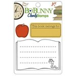 Bo Bunny Press - Learning Curve Collection - Clear Acrylic Stamps - Learning Curve